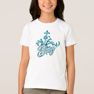 Unique Flourish Design T-Shirt