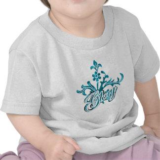 Unique Flourish Design Tee Shirts