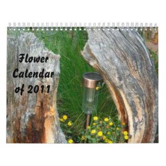 Unique Flower Calendar of 2011