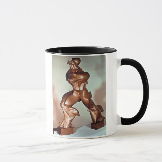 Unique Forms of Continuity in Space, 1913 (bronze) Mug