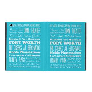 Unique Fort Worth, Texas Gift iPad Cases