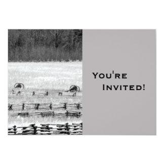 """Unique Fourth of July 5"""" X 7"""" Invitation Card"""