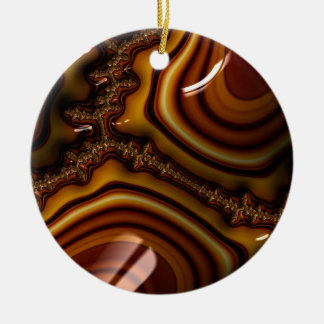 Unique Fractal - Untitled Ceramic Ornament