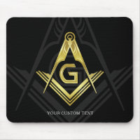Unique Freemason Gift Ideas | Masonic Mouse Pad