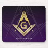 Unique Freemason Gift Ideas | Personalized Masonic Mouse Pad
