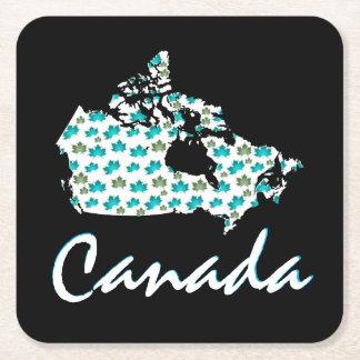 Unique fun Canadian Maple Canada  drink coaster