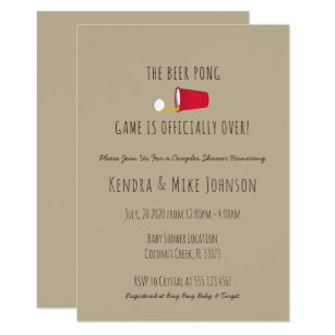 Funny baby shower invitations announcements zazzle unique funny couples baby shower invitation filmwisefo