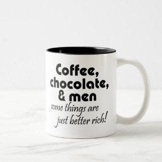 Unique funny womens birthday gifts humor jokes Two-Tone coffee mug