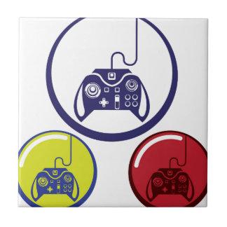 Unique Game Controller Icon Vector Art Tile