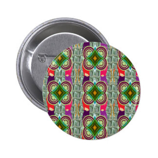Unique geometrical n graphical pattern art gifts pin