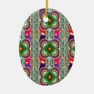 Unique geometrical n graphical pattern art gifts ornaments