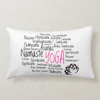 Unique Gift for a Yoga Enthusiast Lumbar Pillow