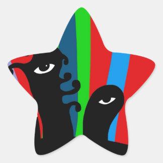 Unique gifts star sticker