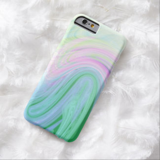 unique girly mint pink lines ombre barely there iPhone 6 case