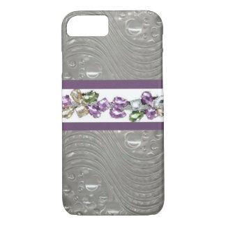 Unique Glass Jeweled iPhone 7 Case