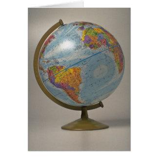 Unique Globe Card