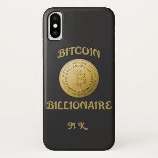 Unique Gold Bitcoin Logo Symbol Cryptocurrency iPhone X Case
