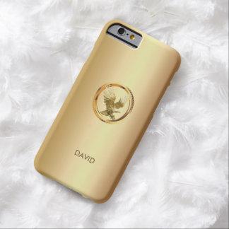 Unique Gold Eagle Custom Name iPhone 6 case