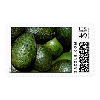 Unique Green avocado Postage