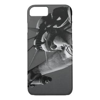 Unique Grey Tones Statue of Liberty iPhone 7 Case