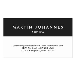 Unique grey white professional business card