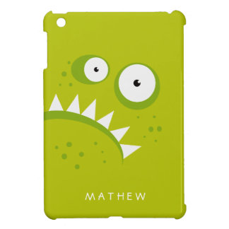 Unique Grumpy Angry Funny Scary Green Monster Case For The iPad Mini