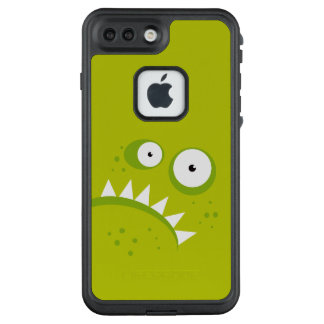 Unique Grumpy Angry Funny Scary Green Monster LifeProof FRĒ iPhone 7 Plus Case