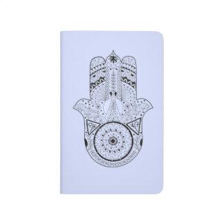 Unique Hand Illustrated Artsy Hamsa Journal