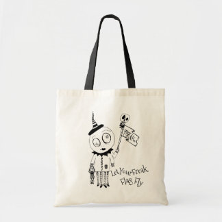 Unique Hand Illustrated Bag