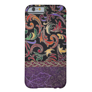 Unique hand sewn fabric art for iPhone 6/6s case