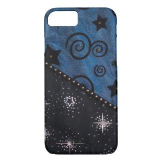 Unique hand sewn fabric image iPhone 7 case