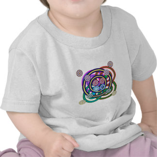 Unique Happy Smiley Line Graphic Art Tshirt