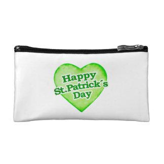 Unique Happy St. Patrick´s Day Design Cosmetic Bag