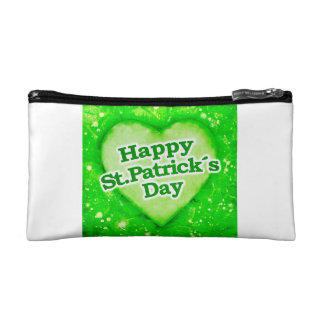Unique Happy St. Patrick´s Day Design Makeup Bag