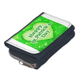 Unique Happy St. Patrick´s Day Design Wallet