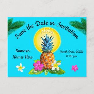 Hawaiian Save The Date Cards Zazzle