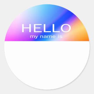 Unique Hello My Name Is