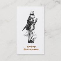 Unique Hipster Vintage Gentleman Frog Business Card