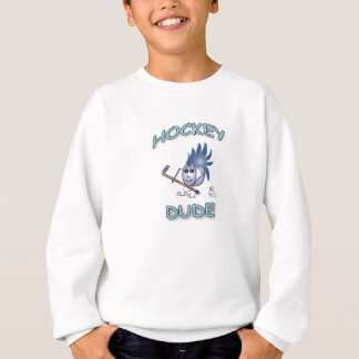 Unique Hockey Dude Sweatshirt