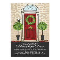 Unique Holiday Open House Party Card