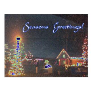 Unique Holiday Season  Image Postcards