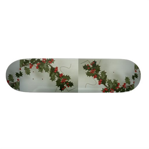 Unique Holly gift for special occasions Skateboard Deck