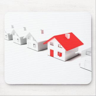 Unique house mouse pad