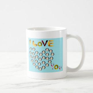 unique 'I love you' mug - unique gift