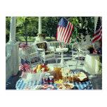 Unique Iced tea, 4th of July, Alabama, U.S.A. Postcard