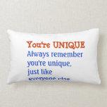UNIQUE Inspiration Motivation Wisdom Words Pillow