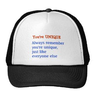 UNIQUE Inspiration Motivation Wisdom Words Trucker Hat