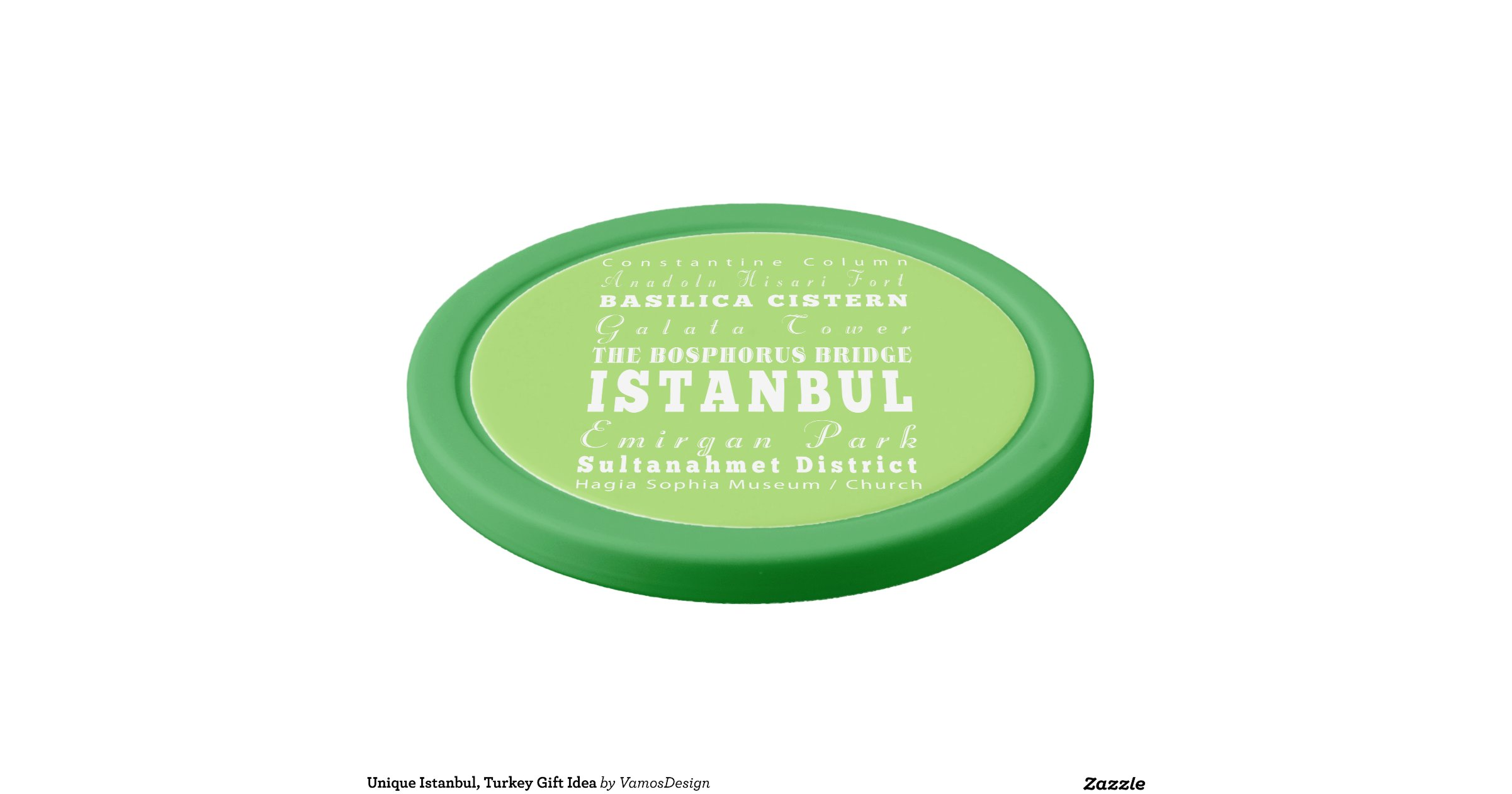 Istanbul poker chip