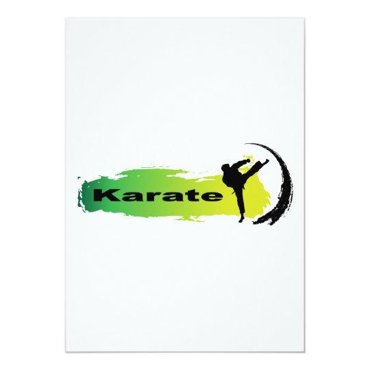 Unique Karate Card
