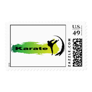 Unique Karate Postage